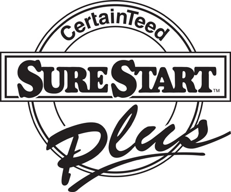 Find peace of mind with CertainTeed SureStart PLUS Coverage.